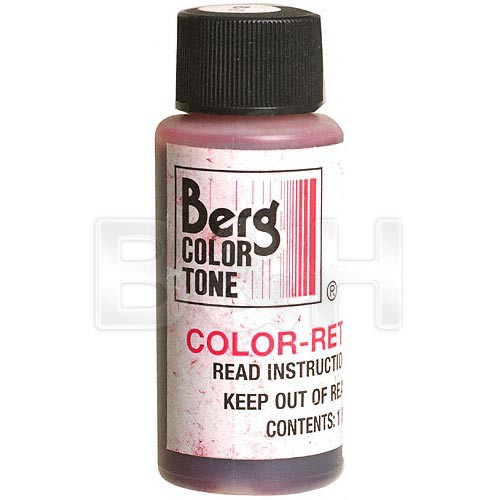 Berg Toner Refill for Black & White Prints (Red-2, 1 oz)
