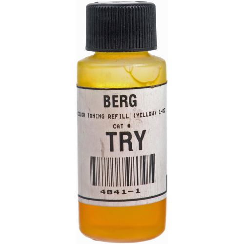 Berg Toner Refill for Black & White Prints (Yellow, 1 oz)