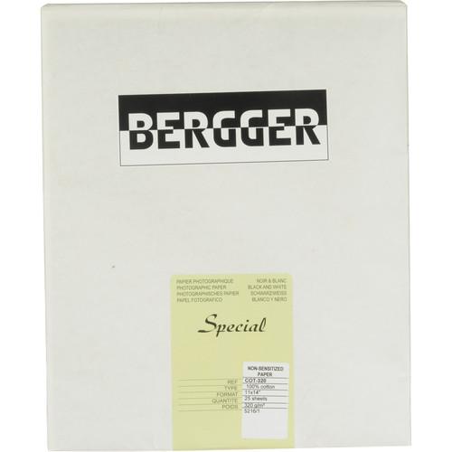 """Bergger COT 320 Paper (11 x 14"""", 25 Sheets)"""