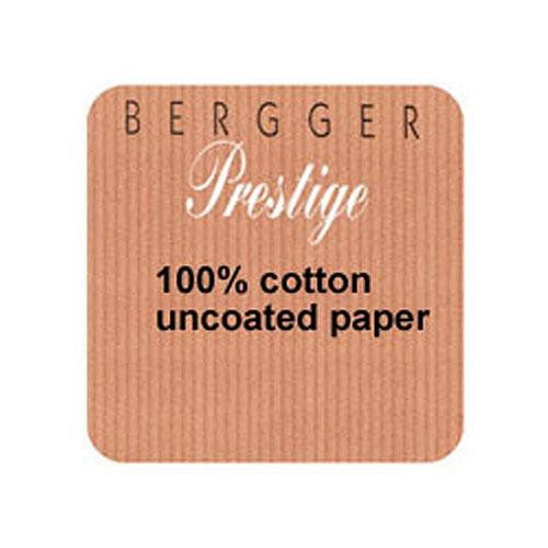 "Bergger 100% Cotton Uncoated Paper - 22x30"" (25 Sheets)"