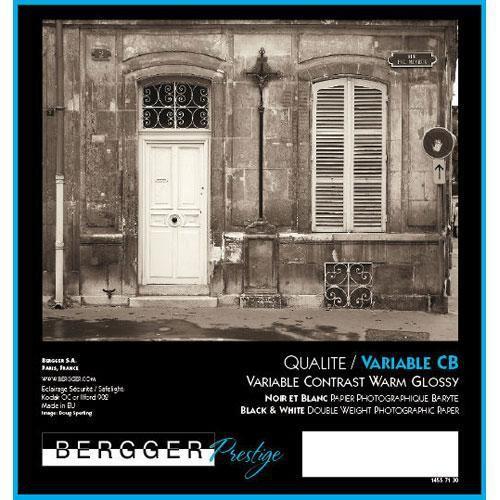 "Bergger Prestige Variable CB Warmtone Baryta Paper (Glossy, 50"" x 32.8'Roll)"