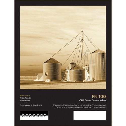 "Bergger PN100 OHP Digital Darkroom Film (13 x 19"", 20 Sheets)"