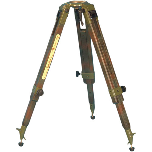 Berlebach Franz Bagyi Edition Camouflage Wooden Tripod for 100mm Leveling Unit