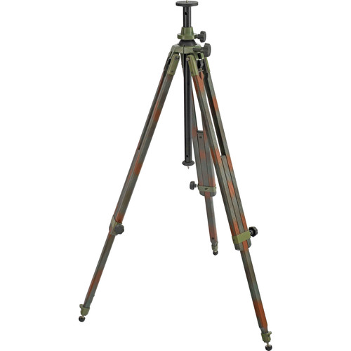 Berlebach 2042C Wood Tripod Legs with Levelling Center Column (Camouflage)