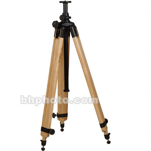 Berlebach 2042 Wood Tripod Legs with Levelling Column