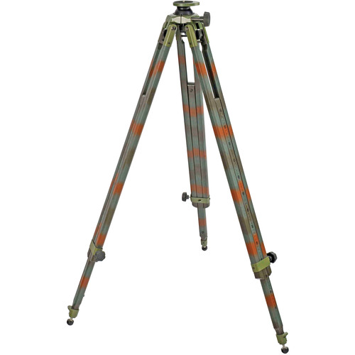 Berlebach 3032C Wood Tripod Legs with Levelling Ball (Camouflage)