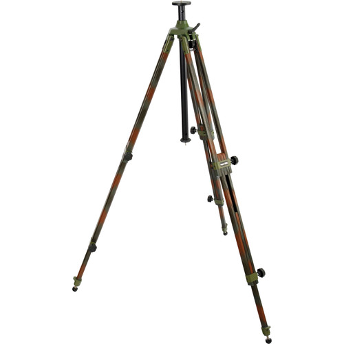 Berlebach 8023C Wood Tripod Legs with Center Column (Camouflage)