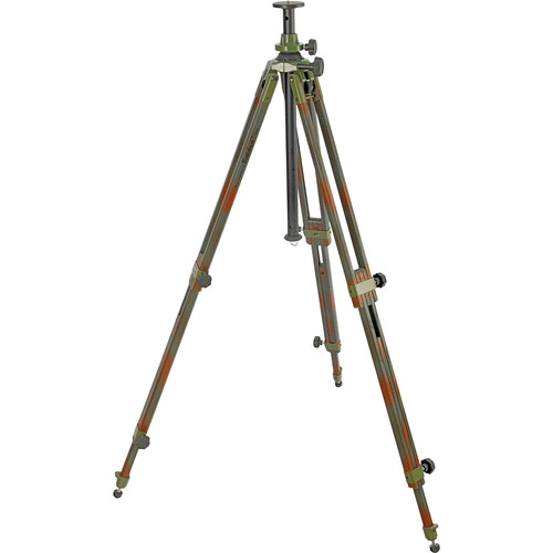 Berlebach 8043C Wood Tripod Legs with Levelling Center Column (Camouflage)
