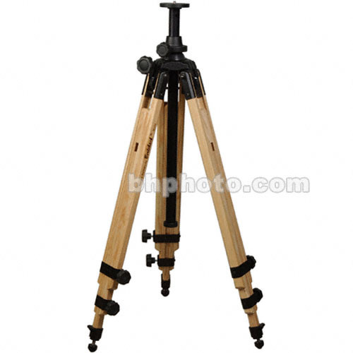 Berlebach 8043 Wood Tripod Legs with Levelling Column