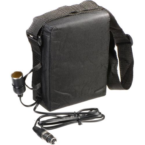 Bescor BES-018XLRN Shoulder Pack Lead-Acid Battery - 12 VDC, 18 amp hours, Cigarette Connector, without Charger