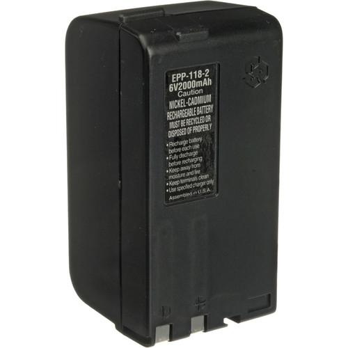 Bescor BP-77H Ni-Cad Battery Pack - 6v, 2400mAh