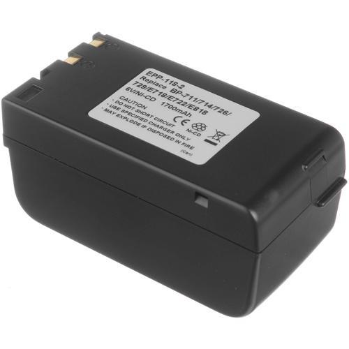 Bescor BP-77XT Ni-Cad Battery Pack - 6v, 2000mAh