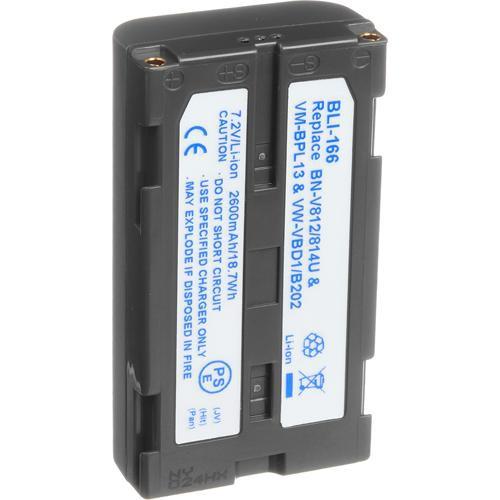 Bescor BPLI-497 Lithium-Ion Battery Pack - 7.2v, 1400mAh