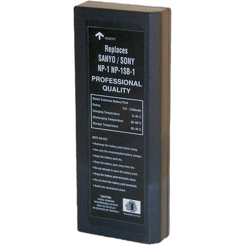 Bescor BP-NP1 NP-1 Style NiCd Battery with 12V/2300 mAh