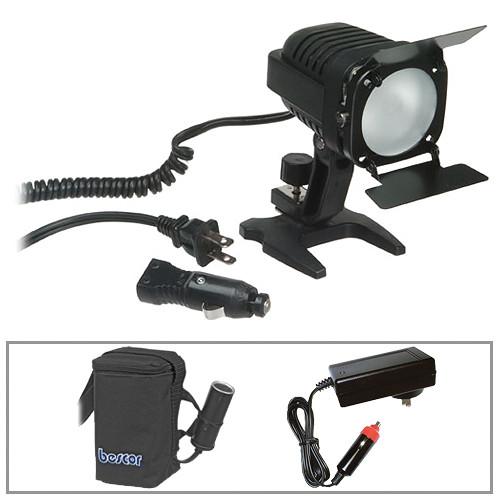 Bescor KLK-65 Light and Battery Kit
