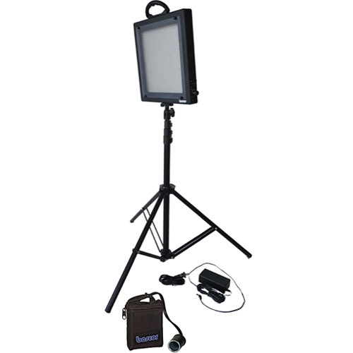 Bescor LED-500KNMH Studio Light Battery Kit (100-240VAC)