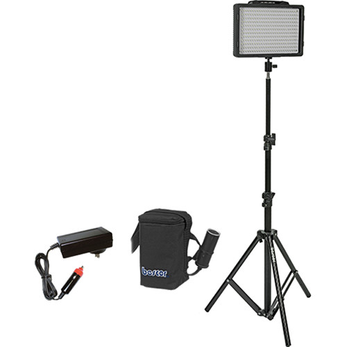 Bescor LED-200S 1 Light Kit with Battery and Charger