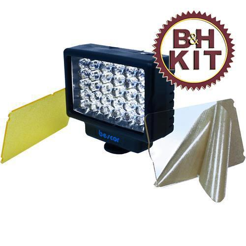 Bescor LED-35 35 Watt Broad Beam Video Light