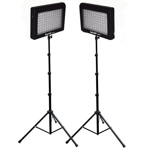 Bescor LED-95DK2 Dual LED Light Kit