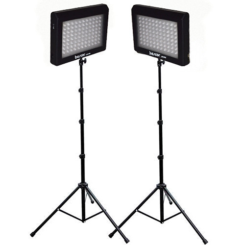 Bescor LED-95DK2 Dual LED Light Kit