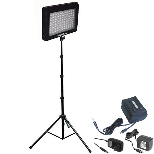 Bescor Single Light 95W LED Kit with Battery and Charger