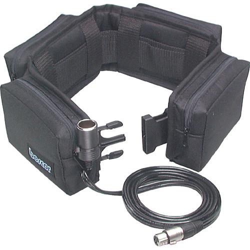 Bescor PRB-24XLRATM Heavy Duty Starved Electrolyte Battery Belt (12v, 24 amp)
