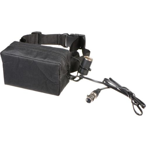 Bescor PRB9XLRATM 12V Starved Electrolyte Battery Belt & Automatic Universal Charger