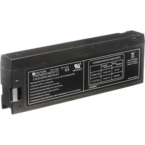 Bescor PV-BP88 Lead-Acid Battery Pack - 12v, 2300mAh