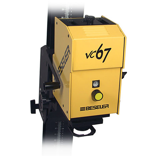 Beseler 67 VCCE VC Head for the Printmaker 67 Enlarger - Yellow