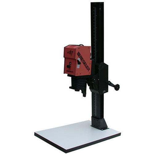 Beseler 67XL-VC-W Variable Contrast (B/W) Enlarger w/ Base & Lens Kit - Red