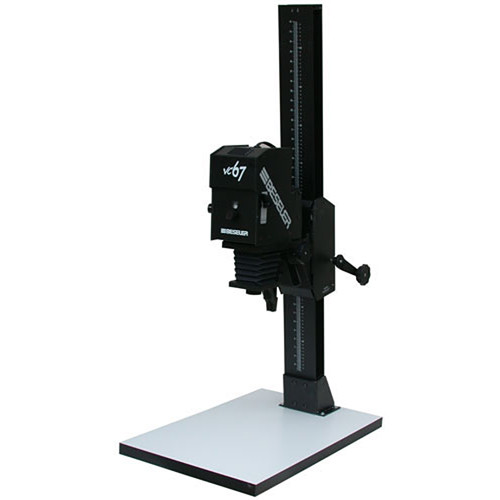 Beseler 67XL VC-W Variable Contrast (Black and White) Enlarger with Baseboard - Black