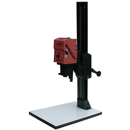 Beseler 67XL-VC-W Variable Contrast (Black and White) Enlarger with Base - Red