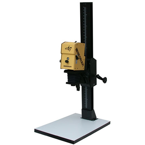 Beseler 67XL-VC-W Variable Contrast (B/W) Enlarger w/ Base - Yellow