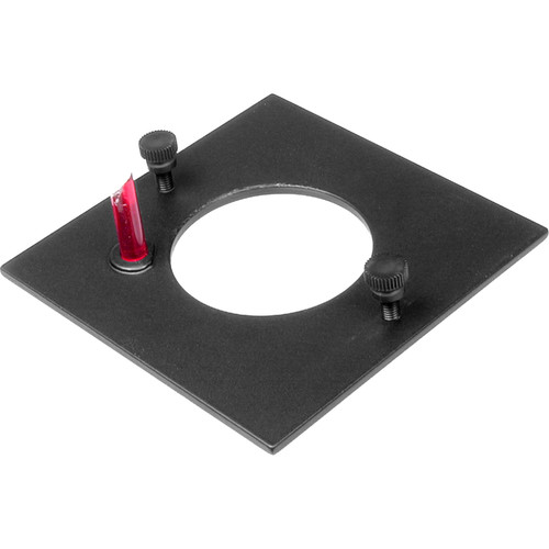 Beseler 50mm Flat Lensboard for 4x5 and 8x10 Series Enlargers (Accepts 100mm to 150mm Lenses)