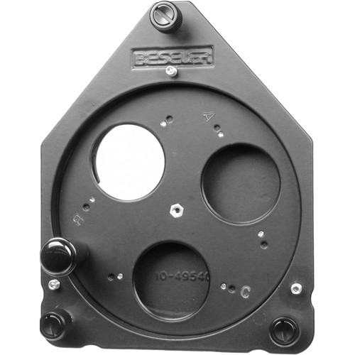 Beseler 3 Lens Turret for 45 Series Enlargers (Accepts Lenses from 35mm to 150mm)