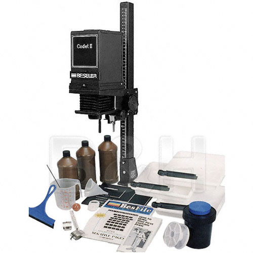 Beseler Cadet II Enlarger with Lens, Printmaker Darkroom Kit