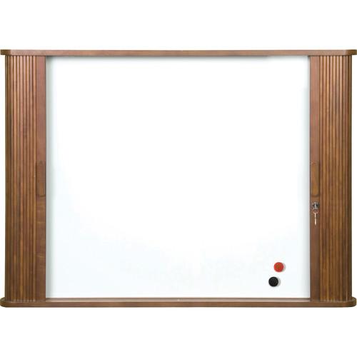 Best Rite Tambour Door Enclosed Cabinet, Model 25010  (Oak)