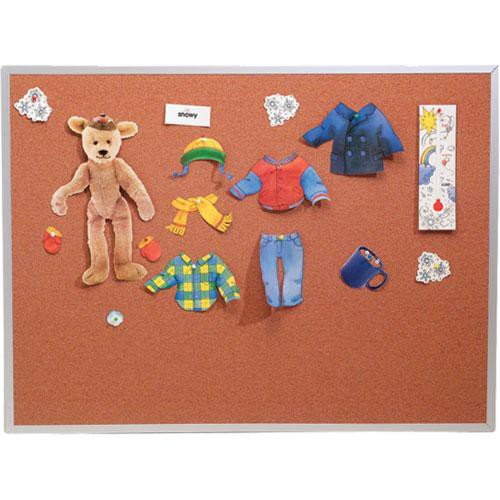 Best Rite 300AH Splash-Cork Tackboard (Blue)