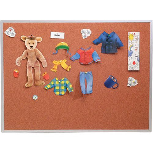 Best Rite 300AK Splash-Cork Tackboard (Blue)