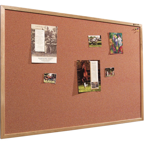 Best Rite 300WH Splash-Cork Tackboard (Red)
