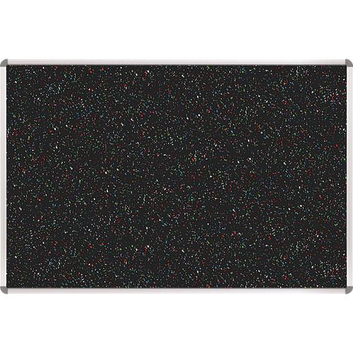 Best Rite 321RA-105 Rubber-Tak Tackboard (1.5 x 2', Multicolored Black Speckled)