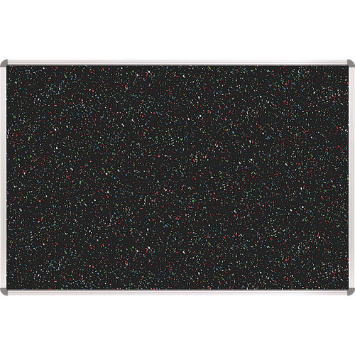 Best Rite 321RA-105 Rubber-Tak Tackboard (1.5 x 2', Multicolored Black Speckled)