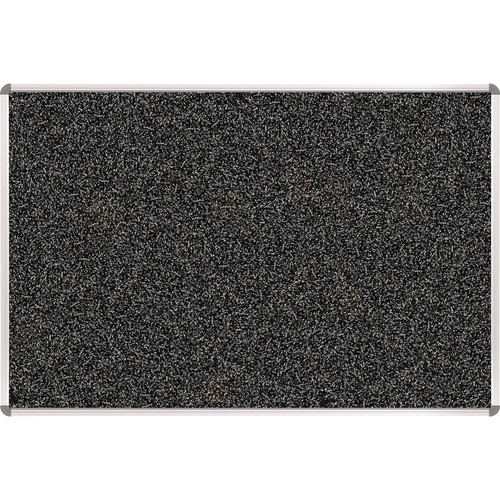 Best Rite 321RA-96 Rubber-Tak Tackboard (1.5 x 2', Black/Gray Speckled)