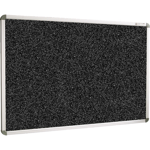 Best Rite 321RB-105 Rubber-Tak Tackboard (2 x 3', Black Speckled)
