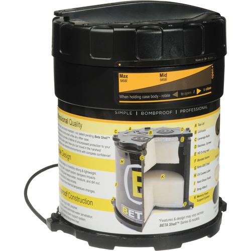 Beta Shell 5.100 Lens Case (Black)