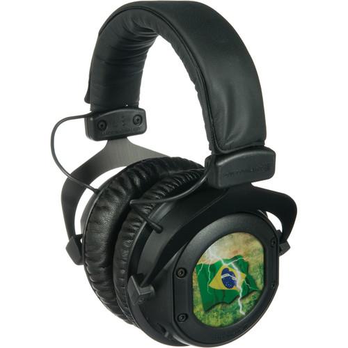 Beyerdynamic CUSTOM ONE PRO Closed-Back Headphones (Flag of Brazil)