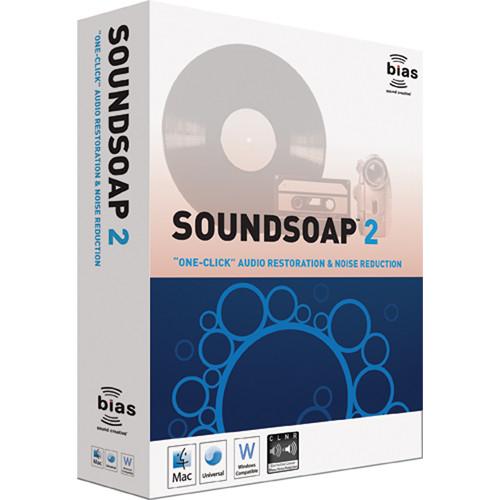 Bias SoundSoap 2 - Audio Cleaning Software Suite