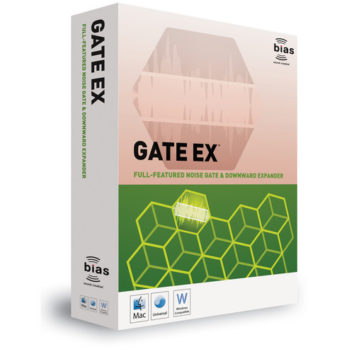 Bias GateEx - Noise Gate and Downward Expander Plug-In