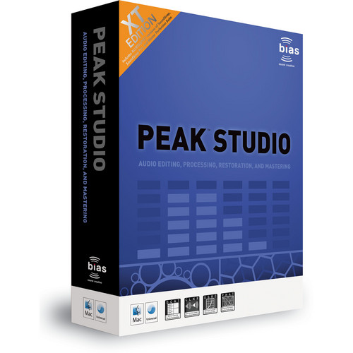 Bias Peak Studio XT - Edit and Restoration Software (Crossgrade)