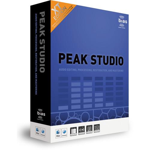 Bias Peak Studio XT - Edit and Restoration Software